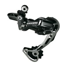 Shimano Deore Dyna-Sys RD-M593 SGS 10 Speed Black Bike Long Cage Rear Derailleur