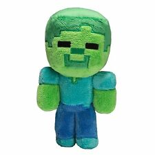 "Minecraft Baby Zombie 7"" Plush Toy Doll New Official Jinx Product"