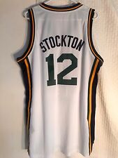 Adidas Swingman NBA Jersey Jazz John Stockton White sz 4X