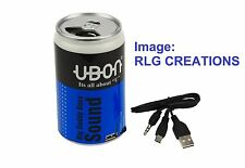UBON PEPSI CAN Multimedia Speaker with AUX, MicroSD Slot & USB Support
