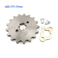 17 Teeth 17mm ID Front Engine Sprocket For 50cc-160cc Pitsterpro Pit Dirt Bike
