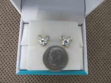 Mickey Mouse Goldtone Earrings For Child or Adult