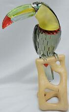 Swarovski Crystal Paradise Birds Black Diamond Toucan 850600