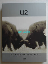 U2 THE BEST OF 1990 - 2000 DVD Album DIGIPACK Limited Edition