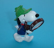 FIGURINE DE COLLECTION SNOOPY EN SHERLOCK HOLMES SCHLEICH NEUF