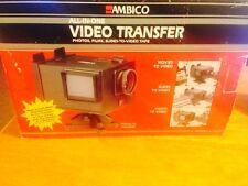 VINTAGE NIB AMBICO VIDEO TRANSFER FREE SHIP