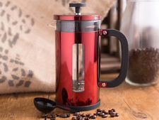 LA CAFETIERE Pisa 8 Cup 1000ml METALLIC RED Coffee Maker With Scoop