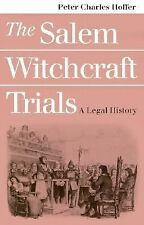 THE SALEM WITCHCRAFT TRIALS - A Legal History, Hoffer - FREE SHIP