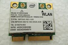 Dell IBM Intel Centrino Wireless-N +WiMAX 6150 WLAN Card 300Mbps 612BNXHMW 9FXW0