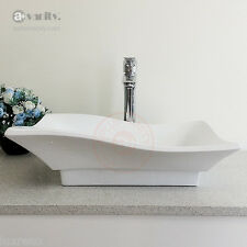 Bathroom Ceramic Vessel Sink Combo *** FREE Tap + PopUp Drain *** Basin BVC003
