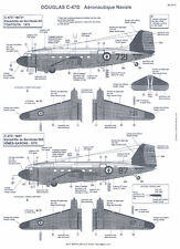 Berna Decals 1/48 DOUGLAS C-47D SKYTRAIN French Navy