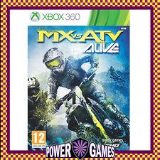 MX vs ATV Alive (Microsoft Xbox 360) Brand New