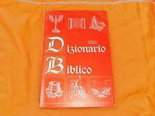 novello pederzini  dizionario biblico 1967 corso religione scuole superiori