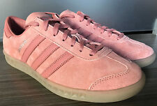 NEW adidas ORIGINALS HAMBURG SHOES size 9 $100 S81825 raw pink gum