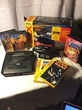 HUGE Sega Bundle Sega 32X Genesis & Games with Original Boxes Manuals Controller