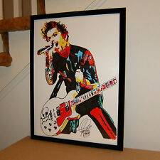 Billie Joe Armstrong, Green Day, Singer, Guitar Player, Punk, 18x24 POSTER w/COA