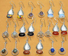 10PRWHOLESALE LOT! 925 SILVER STERLING OVERLAY EARRING MODERN STYLE JEWELRY