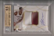 Tristan Thompson 12/13 Immaculate Patch Auto RC SN #07/75 BGS 9.5/10