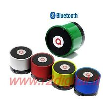 MINI ALTOPARLANTE BLUETOOTH RICARICABILE VIVAVOCE AUTO CASSE IPHONE 5 ANDROID 4