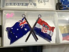 DECAL Australia Croatia SIZE 170MM BY 100MM apr. Gloss Laminated