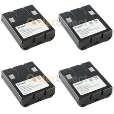 4x Cordless Home Phone Battery Pack for Sony BPT23 BP-T23 Uniden BT-999 BT999