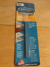 Century Drill and Tool 86808 Sonic Masonry Drill Bit, 1/8-Inch by 3-Inch