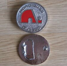 Nordiques Quebec hockey belt buckle (Choice colors)