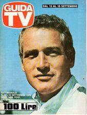 rivista GUIDA TV ANNO 1976 NUMERO 22 PAUL NEWMAN
