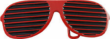 Retro Belt Buckle- Shutter Sunglasses (Red)