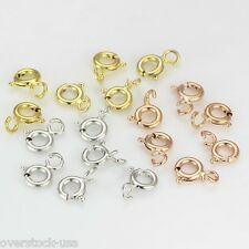 18K Gold Necklace Chain Spring Clasp / Size: 4.5mm