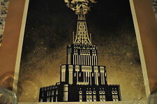 Shepard Fairey - Obey Giant - Oil and Gas Building - 2014 - Industrial Power -