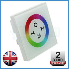 White Wall Mount Multi Function RGB Controller for RGB LED Strip 5050 2835