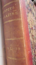 Harper's New Monthly Magazine Bound Vol 39 (Jun-Nov 1869) Janissaries, Slavery