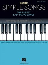 More Simple Songs Sheet Music The Easiest Easy Piano Songs SongBook 000172308