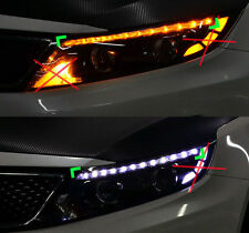 LED Eyeline eyebrow 2way Power Modules LH RH 2p For 2014 2015 Kia Optima : K5