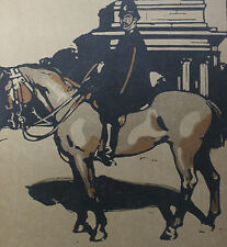 William Nicholson 1898 Types de Londres London Le Policeman