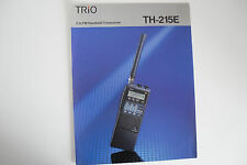 KENWOOD TH-215E (GENUINE LEAFLET ONLY)..........RADIO_TRADER_IRELAND.