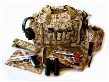 "NEW 20"" Desert Digital CAMO NATO® Tactical Army Gun Pistol Range bag 1000D Nylon"