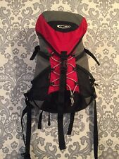 Gelert Summit 25L Hiking Trekking Walking UNISEX Rucksack Backpack Camping Red