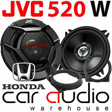 Honda Jazz 2001 - 2008 JVC 13cm 520 Watts Front Door Car Speakers & Brackets