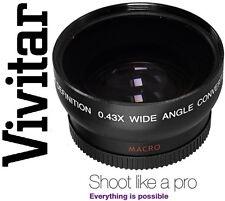 HD4 Optics Vivitar Wide Angle With Macro Lens For Pentax K-50 K50