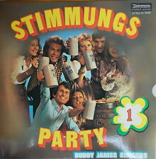 LP Buddy James Singers - Stimmungsparty 1 ,VG++,Universum Records 74 137