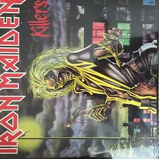 Iron Maiden 'Killers' LP 2014 Reissue on 180g Vinyl New and Sealed