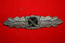 WW2 1957 GERMAN ARMY CLOSE COMBAT CLASP BREAST BADGE BRONZE NOT NAZI