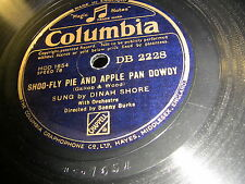 9/1R Dinah Shore -  Laughing on the Outside - Shoo Fly Pie and Apple Pan Dowdy