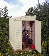 DuraMax 4X8 SideMate Vinyl Shed with Foundation [00625]