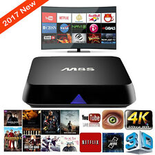 M8S Quad Core Android Smart TV Box Jailbroken Live TV Movie FULLY LOADED Player
