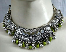 Kuchi Tribal Fashion Necklace Earring Belly Dance Costume Jewelry Ethnic Gypsy A