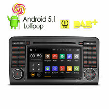 """Android 5.1 Car Stereo 7"""" GPS for Mercedes Benz ML GL W164 ML300 ML350 DVD Radio"""