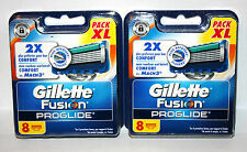 Gillette Fusion Proglide 2 x 8  Lames de Rasoir / Neuf Autre / Sous Blister
